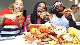 Seafood Boil with Joel and Lauren (Not So ASMR)