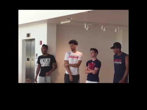 Trier, Jeter, Barcello, & Lee Adia Barnes Camp