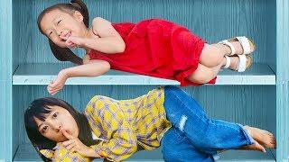 키즈카페 숨바꼭질 동요 놀이 Hide and seek playground Song Nursery Rhymes & Kids Songs for children