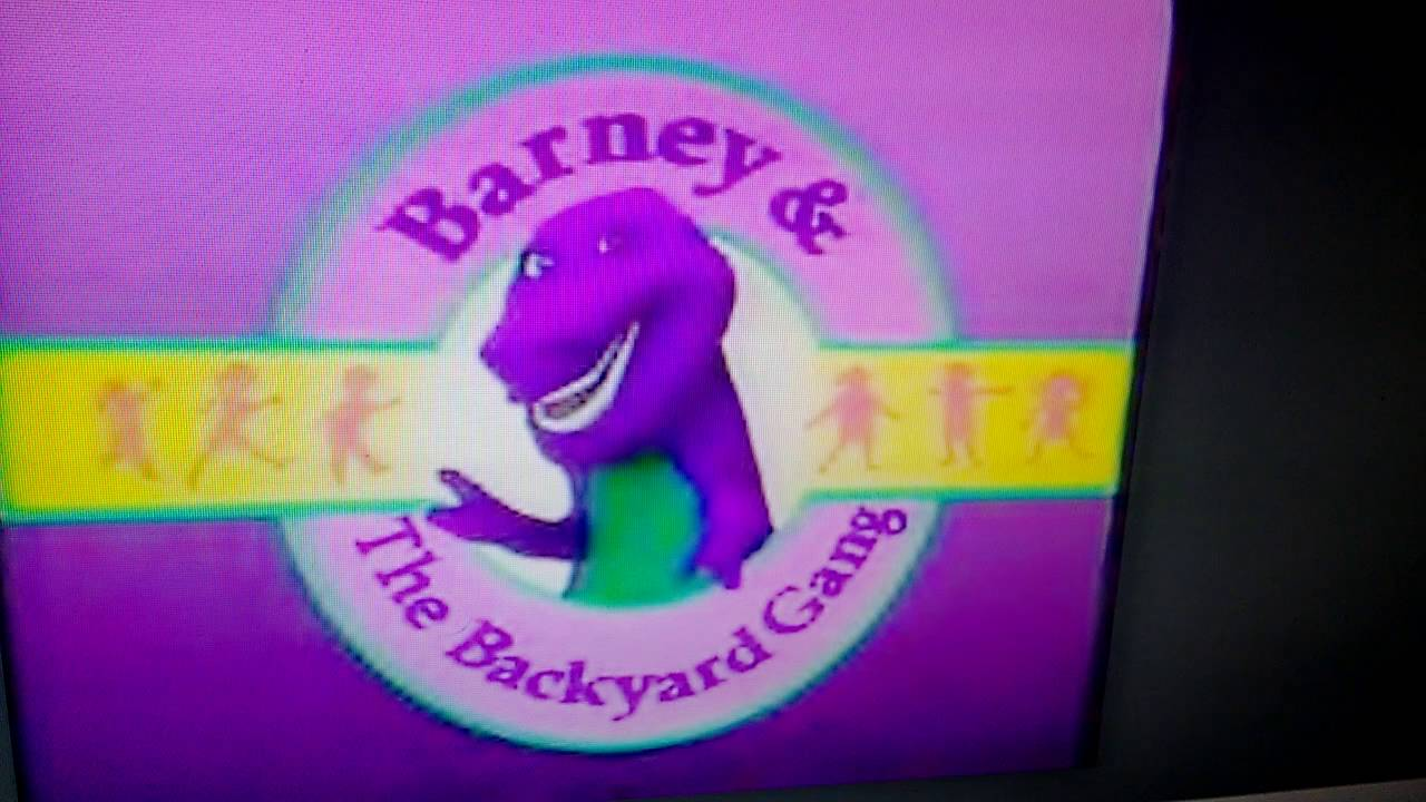 barney and the backyard gang intro home design ideas office