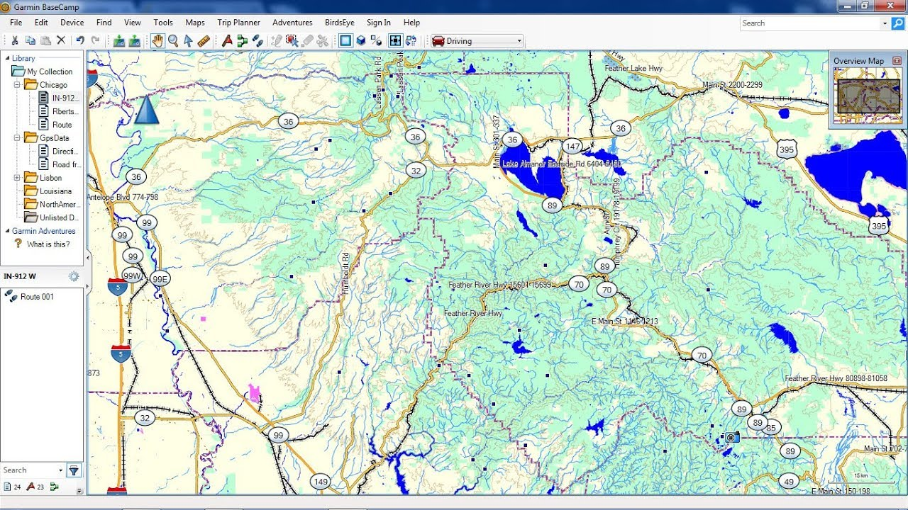 installing Topographic maps in Garmin BaseCamp for free
