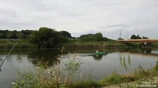 印旛沼。水路を見てきました。独特の感じがあります。