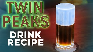 Twin Peaks Mystery Cocktail! | How to Drink