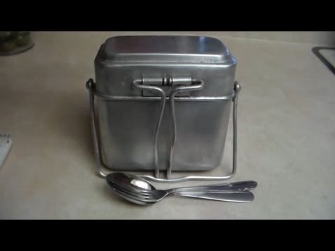The M35 French Mess Kit With Israeli Markings: Review and Cooking Demo.