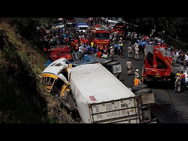 Honduras : deadly bus crash