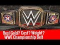 Real Gold In WWE Championship Belt ? Cost, Weight Of WWE Championship ? WWE Belt Has Real Gold Worth