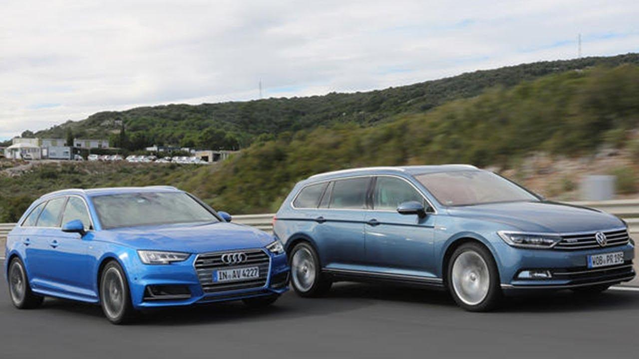 2018 Volkswagen Passat Variant Vs 2018 Audi A4 Avant Youtube
