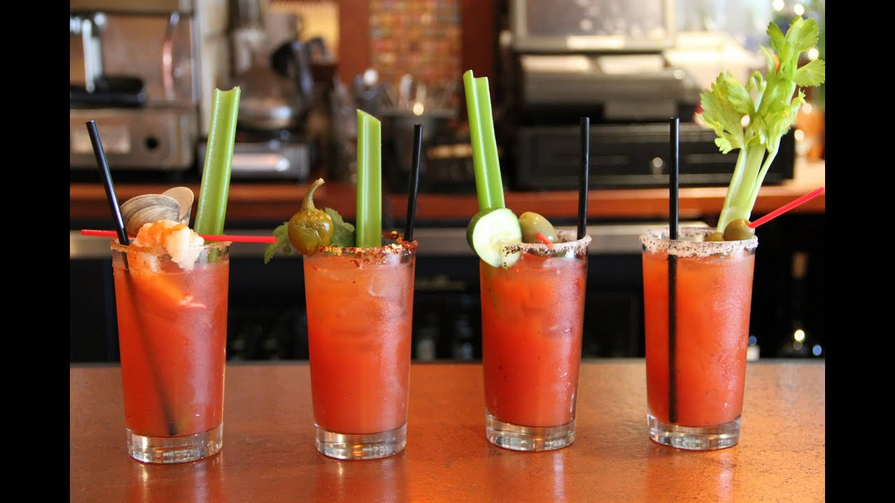 How to make a Bloody Mary - YouTube