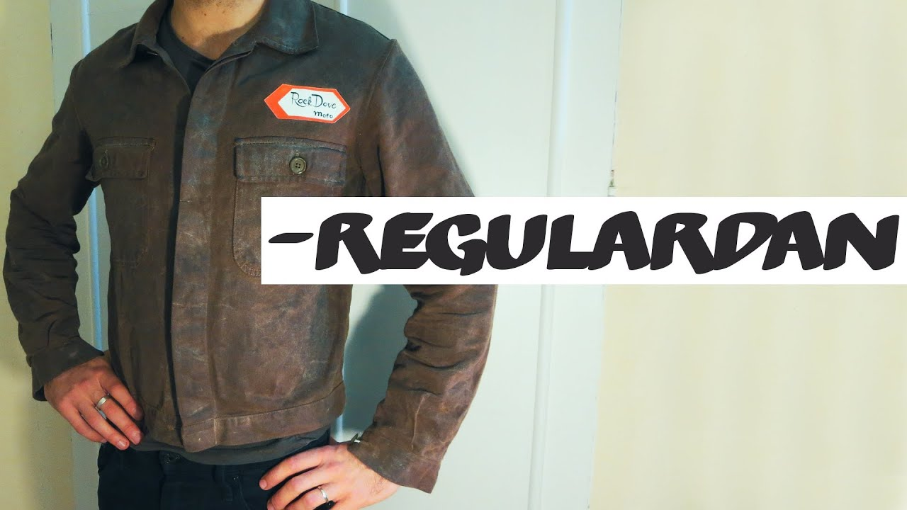 DIY waxed cotton motorcycle jacket. What do you think?VLOGYouTube