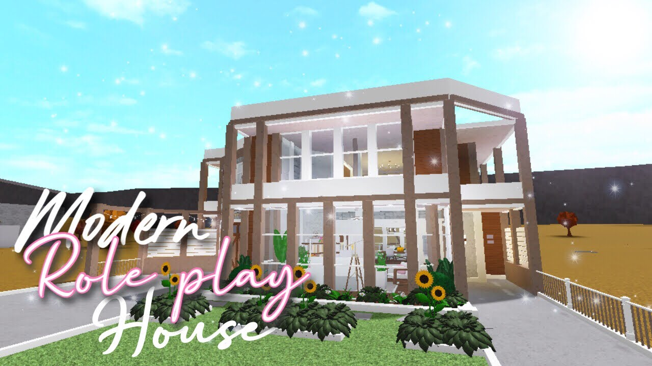 MODERN ROLEPLAY HOUSE °| Welcome To Bloxburg |° Roblox ...