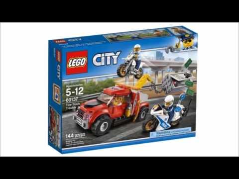 Lego city 2017 Полиция.