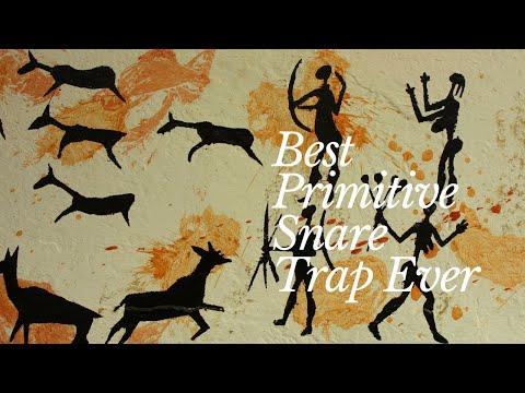 BEST Primitive Snare Trap Ever!!!...Let's Eat!