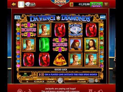 Davinci Diamonds Slots High Roller Play DoubleDown Casino