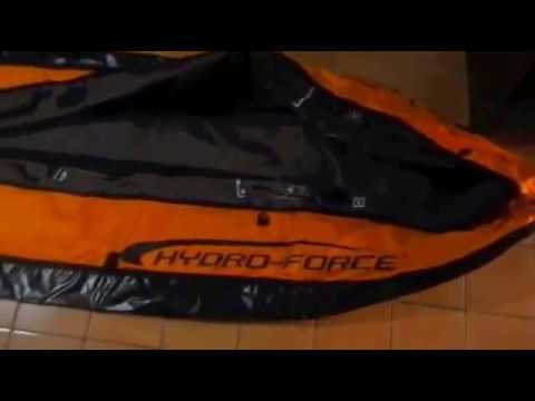 Unboxing - Caiaque Inflável Hydro-Force Ventura - BestWay   Inflatable Kayak