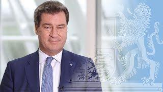 Ministerpräsident Dr. Söder zur aktuellen Lage der Asylpolitik - Bayern