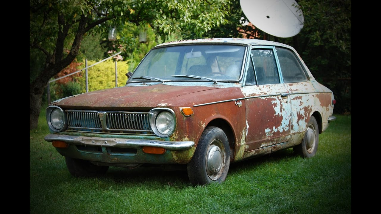 1969 1st Generation Toyota Corolla Ke11 Find And First Start After 15 Years You