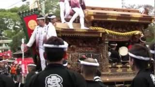 (HD)泉大津濱八町地車祭迫力版 thumbnail