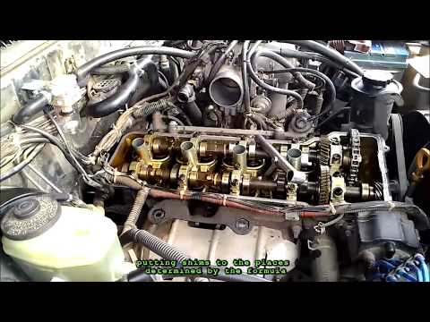 How to do valve gap and clearance check VVT-i engine ...