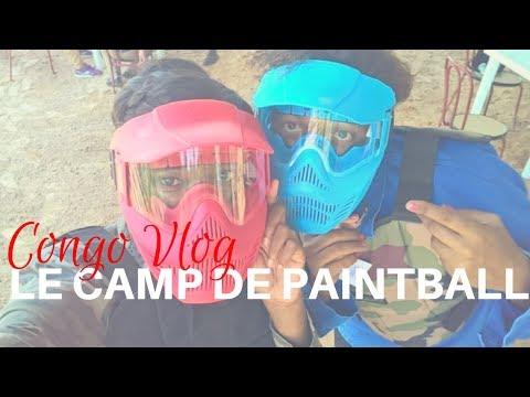 Le camp de paintball a Pointe-Noire|| CONGO-Brazzaville Vlog