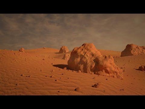 Blender Tutorial - Martian Landscape Follow-along
