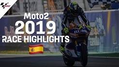 2019 #SpanishGP | Moto2 Race Highlights