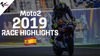 2019 #SpanishGP   Moto2 Race Highlights