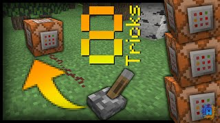 Minecraft - 8 Useful Command Block Tricks