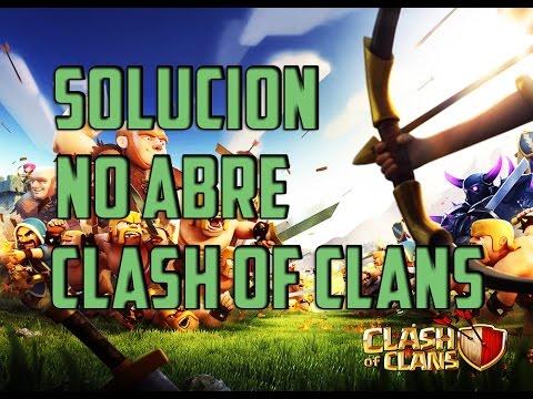SOLUCION ( NO ABRE CLASH OF CLANS ) | 2015 | ERROR DE SERVIDOR |