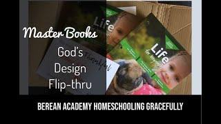 God's Design Life for Beginners- Master Books Curriculum Flip Through