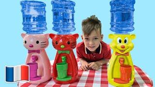 Cinq Enfants et Histoire pour enfants d'eau chère
