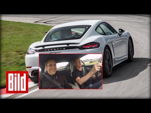 """Porsche """"Cayman"""" von Walter Röhrl getestet"""