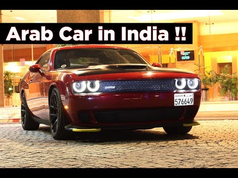 Dodge Challenger SRT Hellcat in India from Bahrain | Arab Car | #169