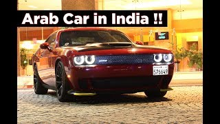 Dodge Challenger SRT Hellcat in India from Bahrain | Arab Car | #169