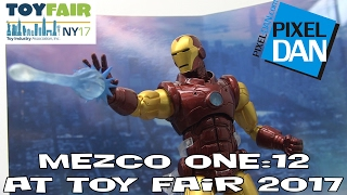 Mezco Toys One:12 Product Walkthrough at New York Toy Fair 2017