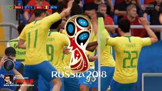 FIFA 18 | World Cup 2018 DLC | Brazil vs Belgium