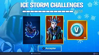 "A FREE SKIN for the ""GLACE TIME DECDES"" on FORTNITE... 😱"