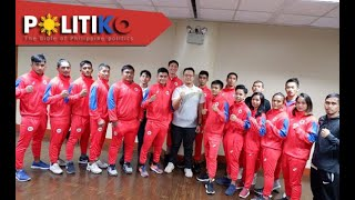 PH kickboxing team vies for the gold in SEA Games - Tolentino