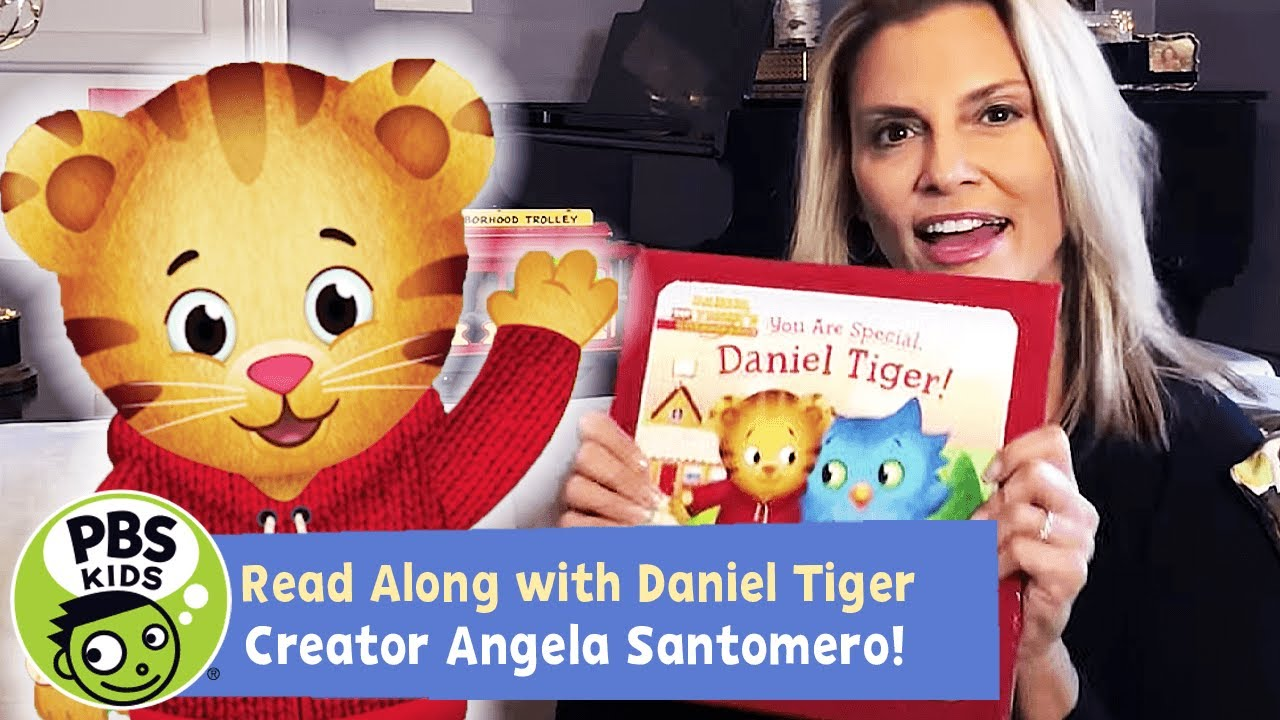 You Are Special, Daniel Tiger! | READ ALONG