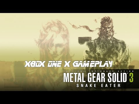 Metal Gear Solid 3: Snake Eater HD - Xbox One X Backwards Compatible Gameplay