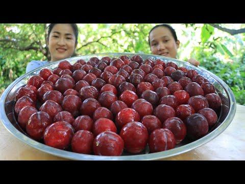 Big Cherries Recipe / Yummy Cherry juice / Pickled Cherries / Prepare By Countryside Life TV.