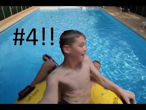 Gopro Hero Swimming Pool Fun 4 Swim Fun Joure Youtube
