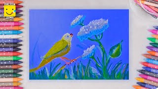 Как рисовать пастелью - урок рисования масляной пастелью для детей 4-10 лет. Пастель поэтапно(Подробнее о пастели и её видах смотрите: https://youtu.be/Ii7RJdfYX2I и https://youtu.be/cMKAOEGViXw Мы ВКонтакте - http://vk.com/art_more_studio., 2015-10-21T17:57:45.000Z)