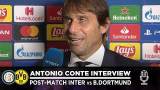INTER 2-0 BORUSSIA DORTMUND | ANTONIO CONTE INTERVIEW: