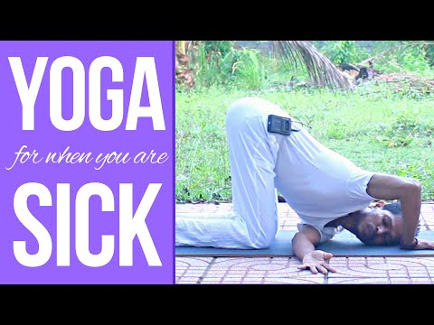 Yoga to Cure Fever । Yoga with Amit