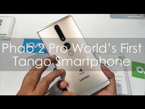 Lenovo Phab 2 Pro World's First Tango Smartphone
