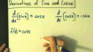 Download Video Calculus I - Derivatives of Sine and Cosine Functions - Proofs MP3 3GP MP4