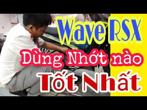Wave RSX Fi Sử Dụng Nhớt Nào Cho Phù Hợp # Khuyến Lê Vlogs