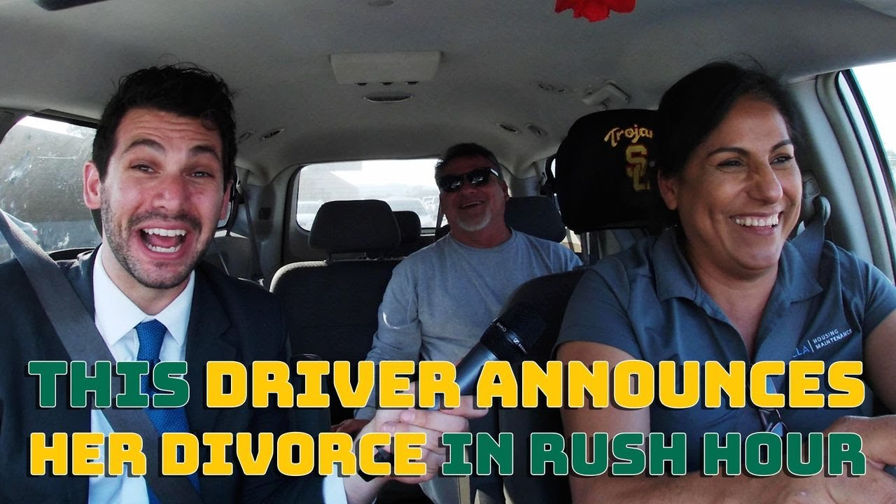 This Driver Announces Her Divorce In Rush Hour