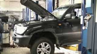 Замена катализатора  Toyota Land Cruiser. Замена катализатора в СПБ .(, 2013-06-27T11:34:52.000Z)