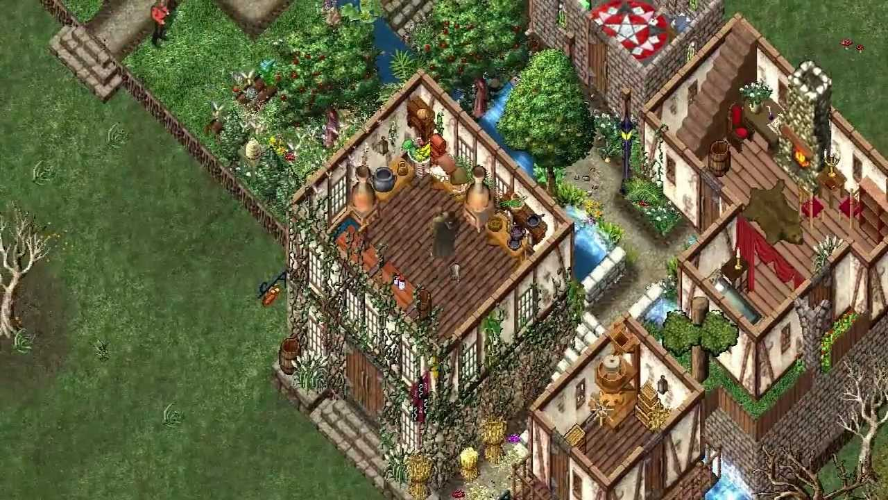Ultima Online The Most Beautiful Houses